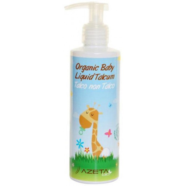 Azeta Bio Organic Baby Liquid Talcum 200ml