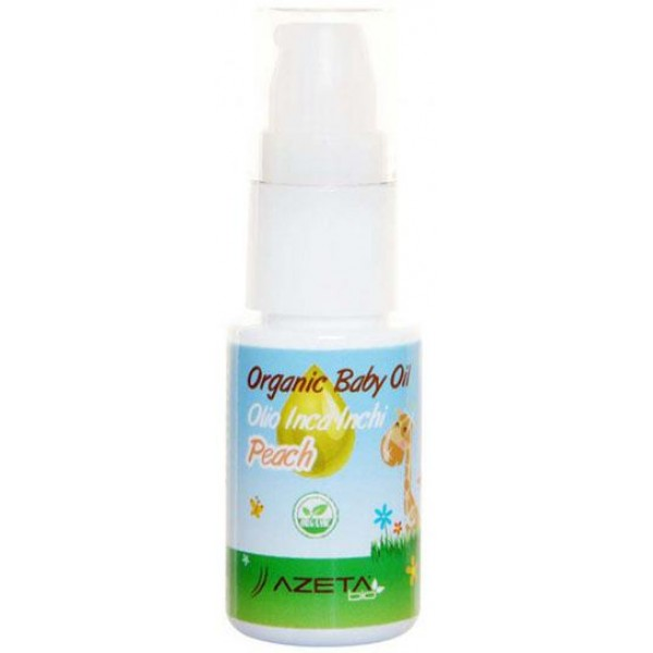 Azeta Bio Organic Baby Oil Massage Peach 20ml