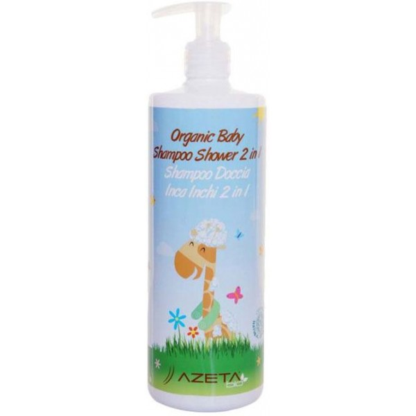 Azeta Bio Organic Baby Shampoo Shower 500ml