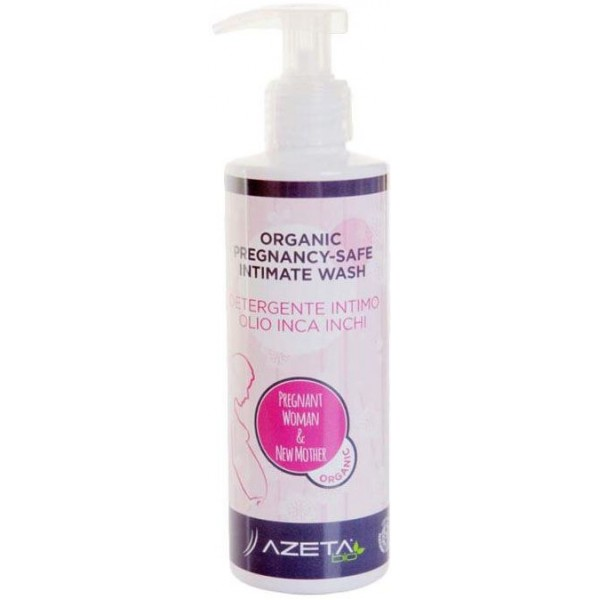 Azeta Bio Organic Pregnancy-Safe Intimate Wash 200ml