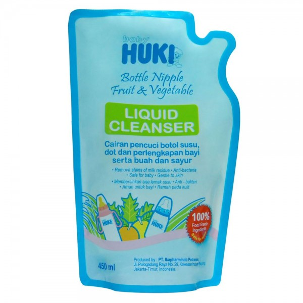 Baby Huki CI0263 Liquid Cleanser Pouch 450ml