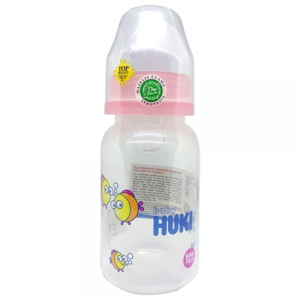 Baby Huki CI0328 PPSP Round 120ml Pink