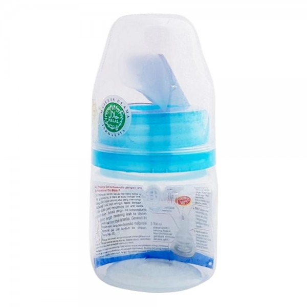 Baby Huki CI0342 PPSP Shaped 60ml Blue