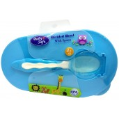 Baby Safe AP010 Divided Bowl with Spoon