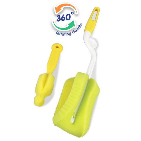 Baby Safe BS368 Sponge Bottle and Teat Brush