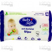 Baby Safe BWP10 Food Grade Anti-Bacterial Wipes /10