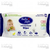Baby Safe BWP50 Food Grade Anti-Bacterial Wipes /50