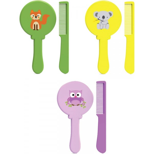 Baby Safe DL1014 Brush and Comb Set