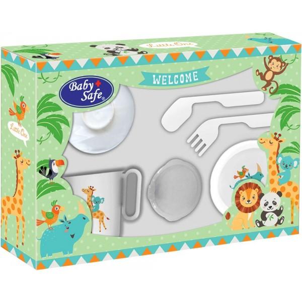 Baby Safe FS303 Small Feeding Set 6pcs