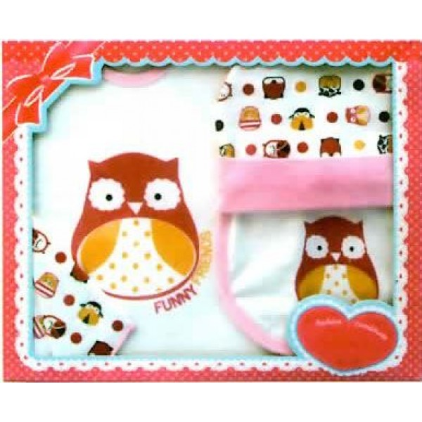 Baby Safe GS132 Giftset Print Owl
