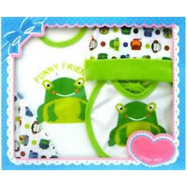 Baby Safe GS133 Giftset Print Frog