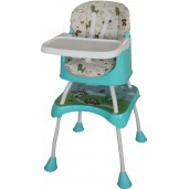 Baby Safe HC04G High Chair and Booster Seat Green