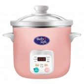 Baby Safe LB06D Slow Cooker 1,5 L with Auto Menu