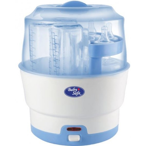 Baby Safe LB317 6-bottle Express Steam Steriliser