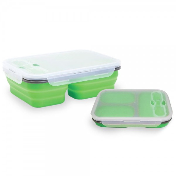 Baby Safe SC006 Collapsible Lunch Box 650 ml + 250 ml + 250 ml