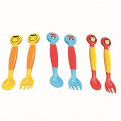 Baby Safe SK003 Spoon And Fork