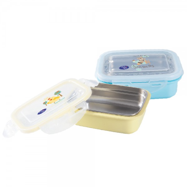 Baby Safe SS008 Lunch Box Square 270ml