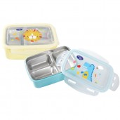Baby Safe SS010 Lunch Box Square 3 Section