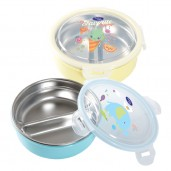 Baby Safe SS011 Lunch Box Round 2 Sections