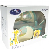 Baby Safe TB101 Feeding Set Round