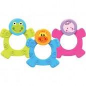 Baby Safe TT003 Easy Grip Rubber Teether