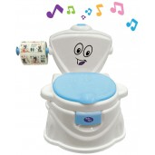 Baby Safe UF004B Train to Flush Potty Blue