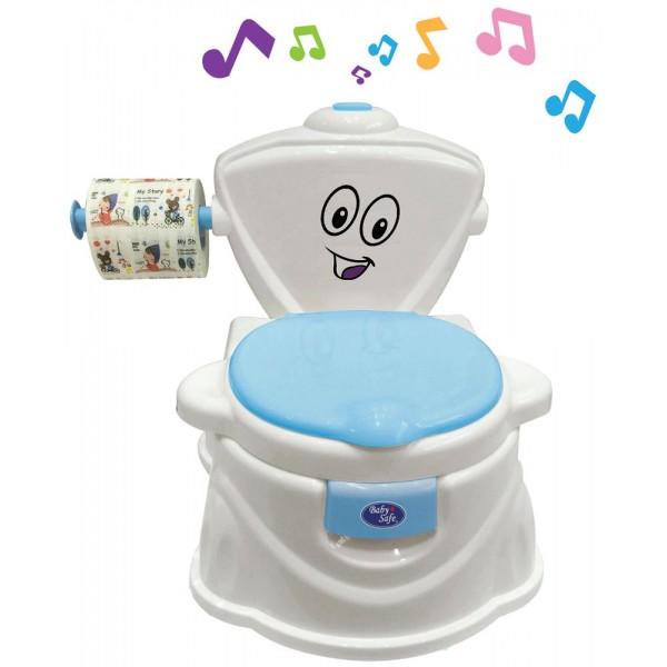 Baby Safe UF004B Train to Flush Potty Blue