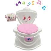 Baby Safe UF004P Train to Flush Potty Pink