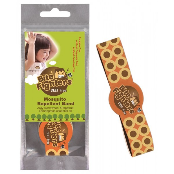 Bite Fighters Soft Mosquito Repellent Band
