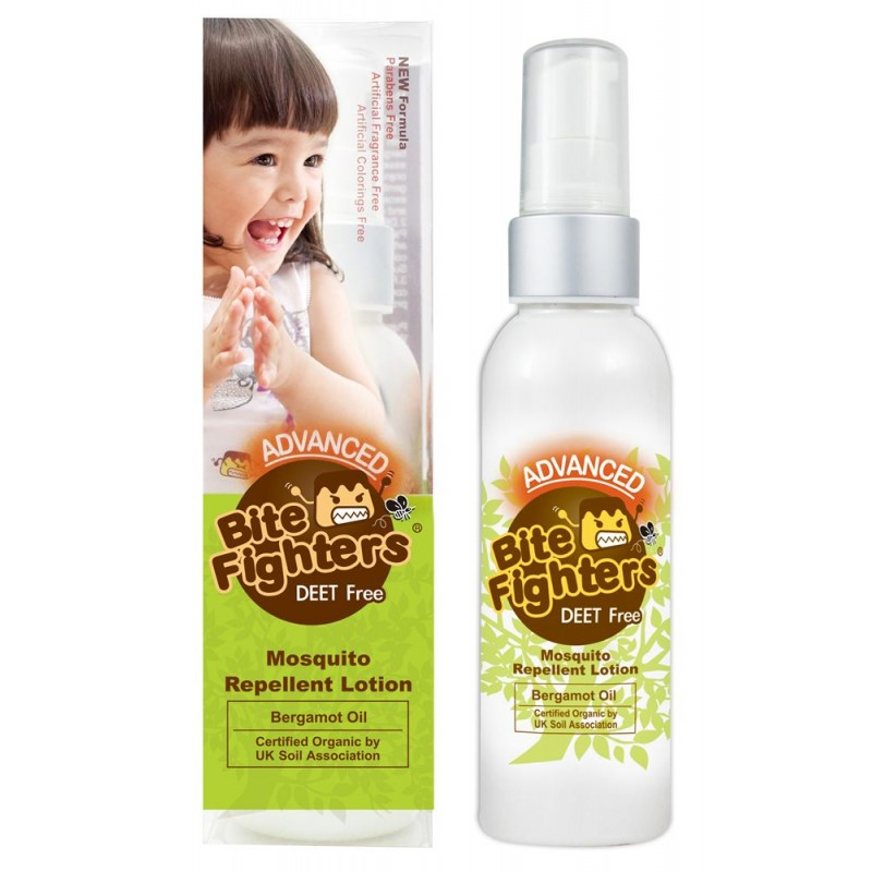 Lotion Anti Nyamuk Bite Fighters Mosquito Repellent Lotion