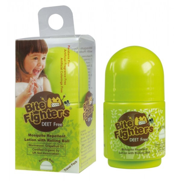 Bite Fighters Mosquito Repellent Lotion with Rolling Ball 30ml