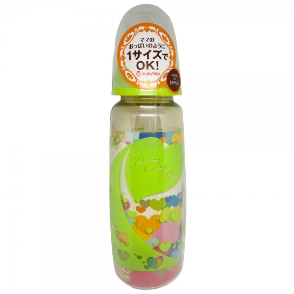 Chuchu Baby PPSU Baby Feeding Bottle Cool Green 240ml
