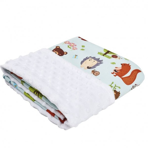 Cottonseeds Blanket Animal Forest