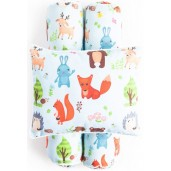 Cottonseeds Pillow Bolster Animals Forest