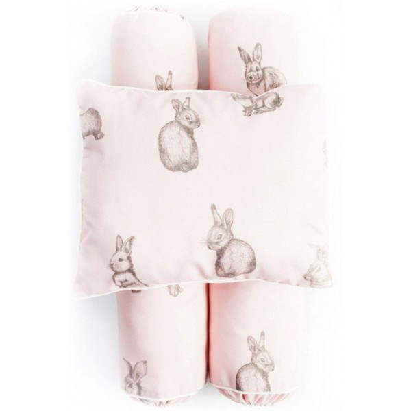 Cottonseeds Pillow Bolster Brown Bunny