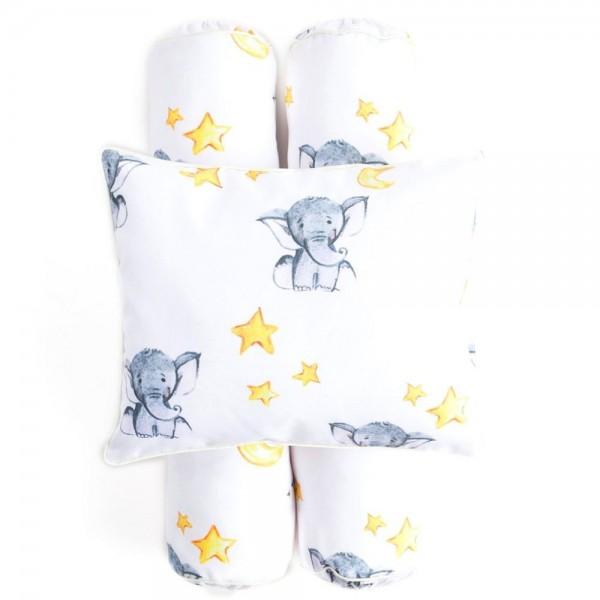 Cottonseeds Pillow Bolster Little Elephant