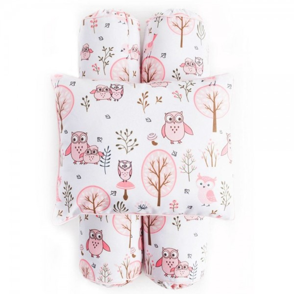 Cottonseeds Pillow Bolster Owl in the Tree