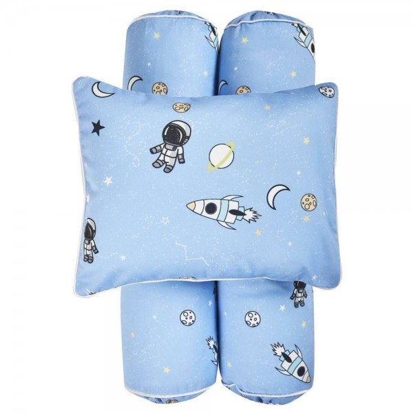 Cottonseeds Pillow Bolster Spaceship