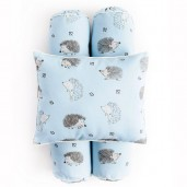 Cottonseeds Pillow Bolster The Hedgehog