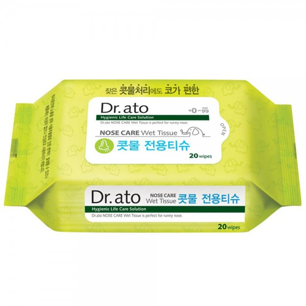 Dr. Ato Real Nose Care Wet Tissue /20
