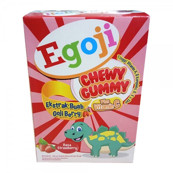 Egoji Chewy Gummy Strawberry