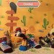 Happy Baby Cowboy Kaos Kaki Anak Usia 6 - 12 Bulan