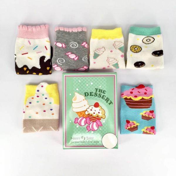 Happy Baby Dessert Kaos Kaki Anak Usia 6 - 12 Bulan