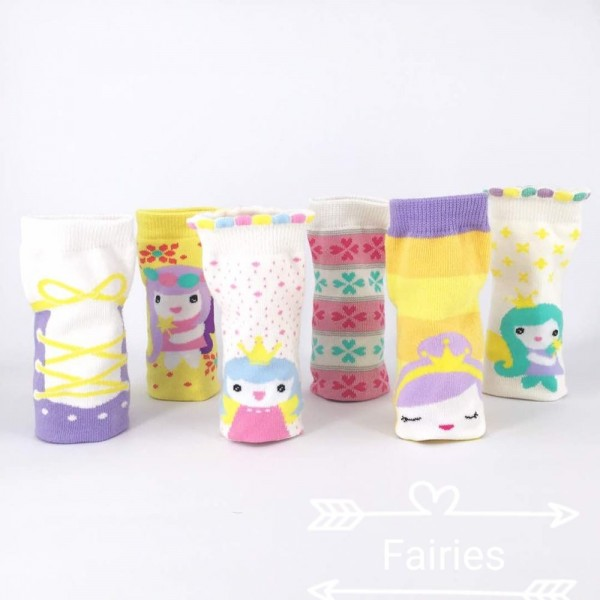 Happy Baby Fairies Kaos Kaki Anak Usia 24 - 36 Bulan