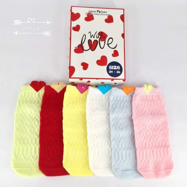 Happy Baby Love Kaos Kaki Anak Usia 24 - 36 Bulan