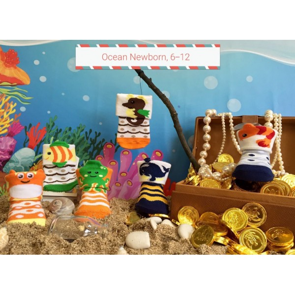 Happy Baby Ocean Kaos Kaki Anak Usia 6 - 12 Bulan