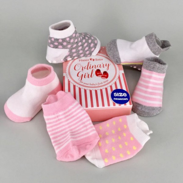 Happy Baby Ordinary Girl Kaos Kaki Anak Usia 24 - 36 Bulan
