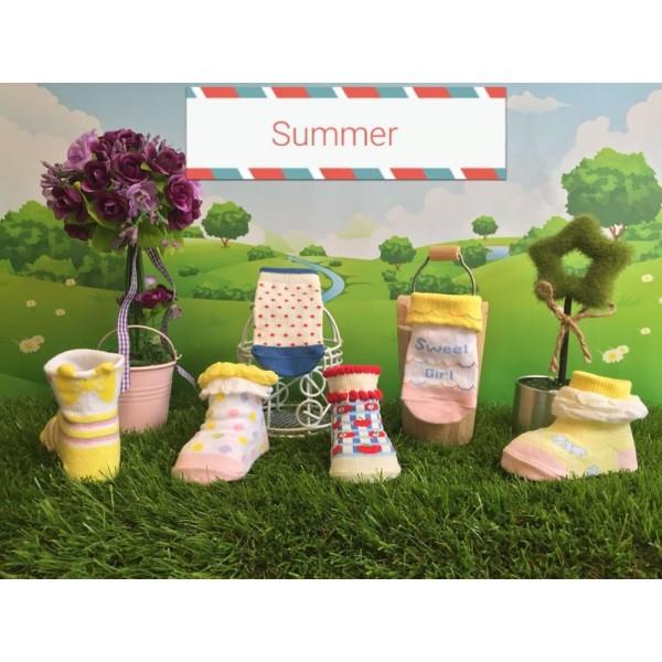 Happy Baby Summer Newborn Kaos Kaki Anak
