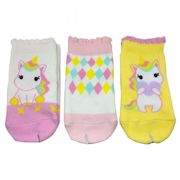 Happy Baby Unicorn Kaos Kaki Anak Usia 6 - 12 Bulan