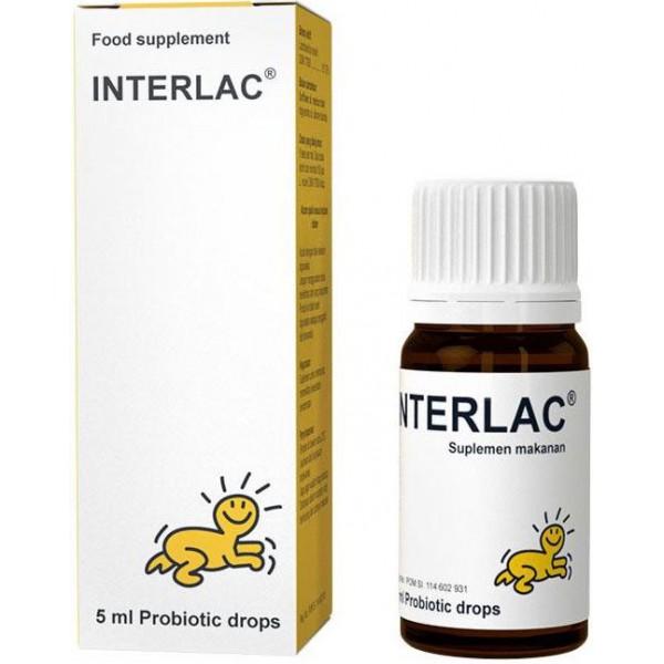 Interlac Probiotik Drops
